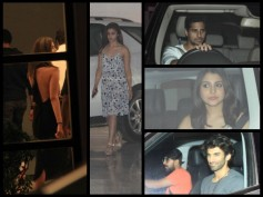 Alia Bhatt, Sidharth And Celebs At Karan Johar's Party (Inside Pics)