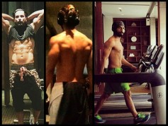 Check Out How Shahid Kapoor Works Out In The Gym (Pics)