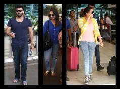 Arjun Kapoor, Huma, Parineeti & Celebs Spotted At Airport
