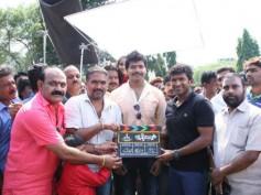 Tyson Movie Goes On Floors: Puneeth Rajkumar Claps For Vinod Prabhakar