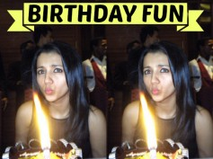 B'day Special: Trisha Celebrates Her Birthday In Style