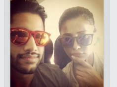 Love Birds? Selfie Moment Of Shruti Haasan And Naga Chaitanya