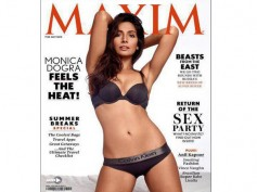 Sensuous Monica Dogra Adds Oomph On Maxim Cover!