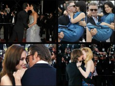 Celebrity PDAs & Kisses At Cannes Red Carpet: Nicole Kidman, Brangelina & More...