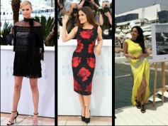Cannes 2015 Day 2: Salma Hayek, Charlize Theron, Mallika Sherawat & More Attend Photo Call