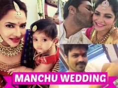 NOT TO MISS: Unseen And Adorable Pics From Manchu Manoj Groom Ceremony
