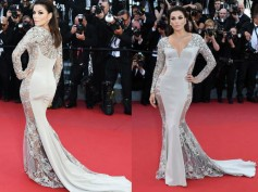 Cannes 2015: Eva Longoria Flaunts Her Curves at Red Carpet