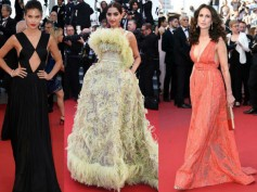Cannes 2015 Day 6 Red Carpet: Sonam Kapoor, Eva Longoria & More...
