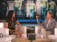 See How Sandra Bullock Gets Excited Over Magic Mike XXL On The Ellen Show