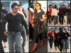 Salman Khan & Kareena Kapoor Return From Bajrangi Bhaijaan Shoot In Kashmir