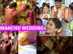 NOT TO MISS: Happy Moments From Manchu Manoj Pranathi Reddy Wedding