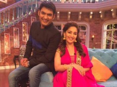 Comedy Nights' Kapil Sharma And Madhuri Dixit Combined Dance With Laughter!