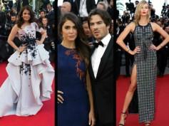 Cannes 2015 Red Carpet: Aishwarya Rai, Nikki Reed, Karlie Kloss & More