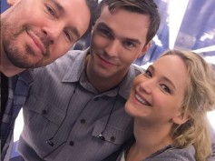 Jennifer Lawrence & Nicholas Hoult Reunite For X-Men: Apocalypse