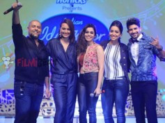 IN PICS: Sonakshi Sinha, Vishal Dadlani, Shalmali Kholgade Launch Indian Idol Junior