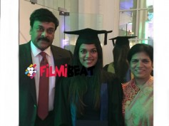 EXCLUSIVE: Chiranjeevi In London For Daughter's Convocation