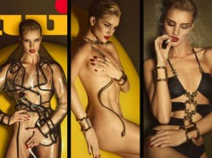 NSFW: Rosie Huntington-Whiteley Strips For Lui, Bares Her Skin For Mag