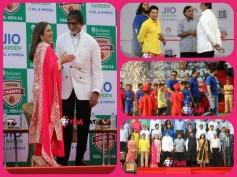 Pics: Amitabh, Abhishek, Ranbir & John At Jio Garden Inauguration In Mumbai