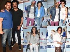 Deepika Padukone, Aamir Khan & Celebs At Dil Dhadakne Do Spl Screening