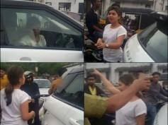 Nazriya Nazim Creates Problem Amidst Traffic?