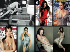 Angelina Jolie Pitt's Hottest Mag Covers: 40th Birthday Spcl
