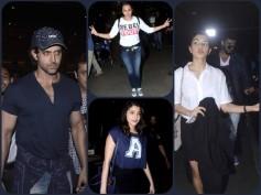 Spotted: Hrithik Roshan, Jacqueline & Celebs Return From IIFA