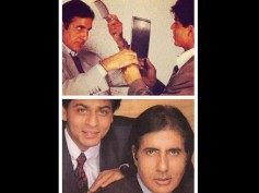 Shahrukh Khan's First Ever Photoshoot With Amitabh Bachchan