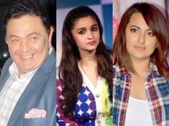 Rishi Kapoor Makes Fun Of Alia Bhatt & Sonakshi Sinha On Twitter