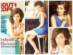 Akshara Haasan's Stunning Photoshoot For South Scope Magazine