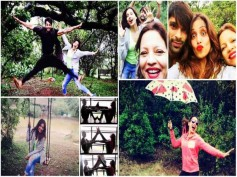 Qubool Hai Fame Karan Singh Grover's Road Trip With Bipasha Basu - Instapics