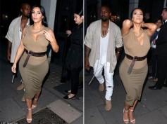 Kim Kardashian Is Putting On Pregnancy Weight