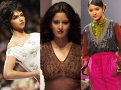 Unseen Old Modelling Pictures of Katrina Kaif, Deepika Padukone And Anushka Sharma