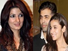 Twinkle Khanna Trolls Karan Johar, Alia Bhatt With Sarcasm