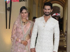 Adorable Pictures: Shahid Kapoor-Mira Rajput's First Appearance After Wedding