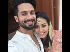 Check Out Shahid Kapoor Posts Wedding Selfie With Mira Rajput
