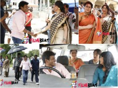 EXCLUSIVE: Working Stills Of Puneeth Rajkumar's 'Dodmane Huduga'