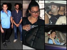 Bajrangi Bhaijaan Spl Screening: Salman, Karan, Sonakshi & Celebs Watch The Film