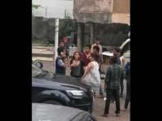 Leaked Pics! Alia Bhatt And Sidharth Malhotra On The Sets Of Kapoor And Sons!