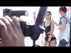 On The Sets: Ileana's Hot Bikini Photoshoot