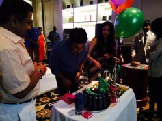 PHOTOS: Suriya Celebrates Birthday With Family, Celebrities Pour In Their Wishes