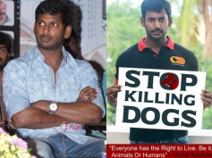 OMG! Actor Vishal's Hunger Strike Against Kerala Government In Support Of Street Dogs