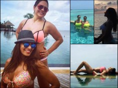 Bikini Clad Bipasha Basu Holidays With Hot Karan Singh In Maldives