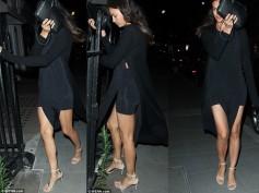 Irina Shayk Visits Bradley Cooper At A London Hotel