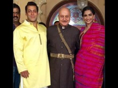Pictures: Salman Khan And Sonam Kapoor Look Breathtakingly Hot On The Sets Of Prem Ratan Dhan Payo