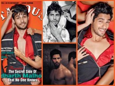 Hot Sidharth Malhotra Gets Naughty With Girls For Stardust (Pics)