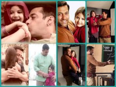 Unseen Candid Pics Of Salman Khan With Munni Aka Harshaali Malhotra