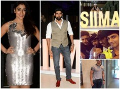 SIIMA 2015: Dhanush, Rana, Shruti, Bollywood Celebs Arrive In Dubai