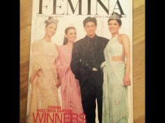 Must See Pictures: Priyanka Chopra Shares Her First Magazine Cover With Shahrukh Khan