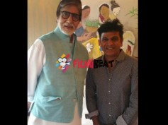 Shivarajkumar Meets Amitabh Bachchan; Invites For Daughter's Marriage!
