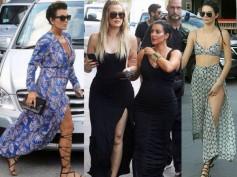 Kris, Kendall, Kourtney & Khloe Flaunt Legs While Kim Goes Simple For Shopping